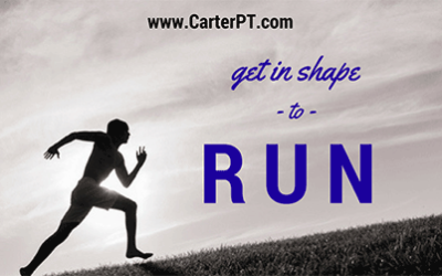 Don't Just Run To Get In Shape… Get in Shape to Run